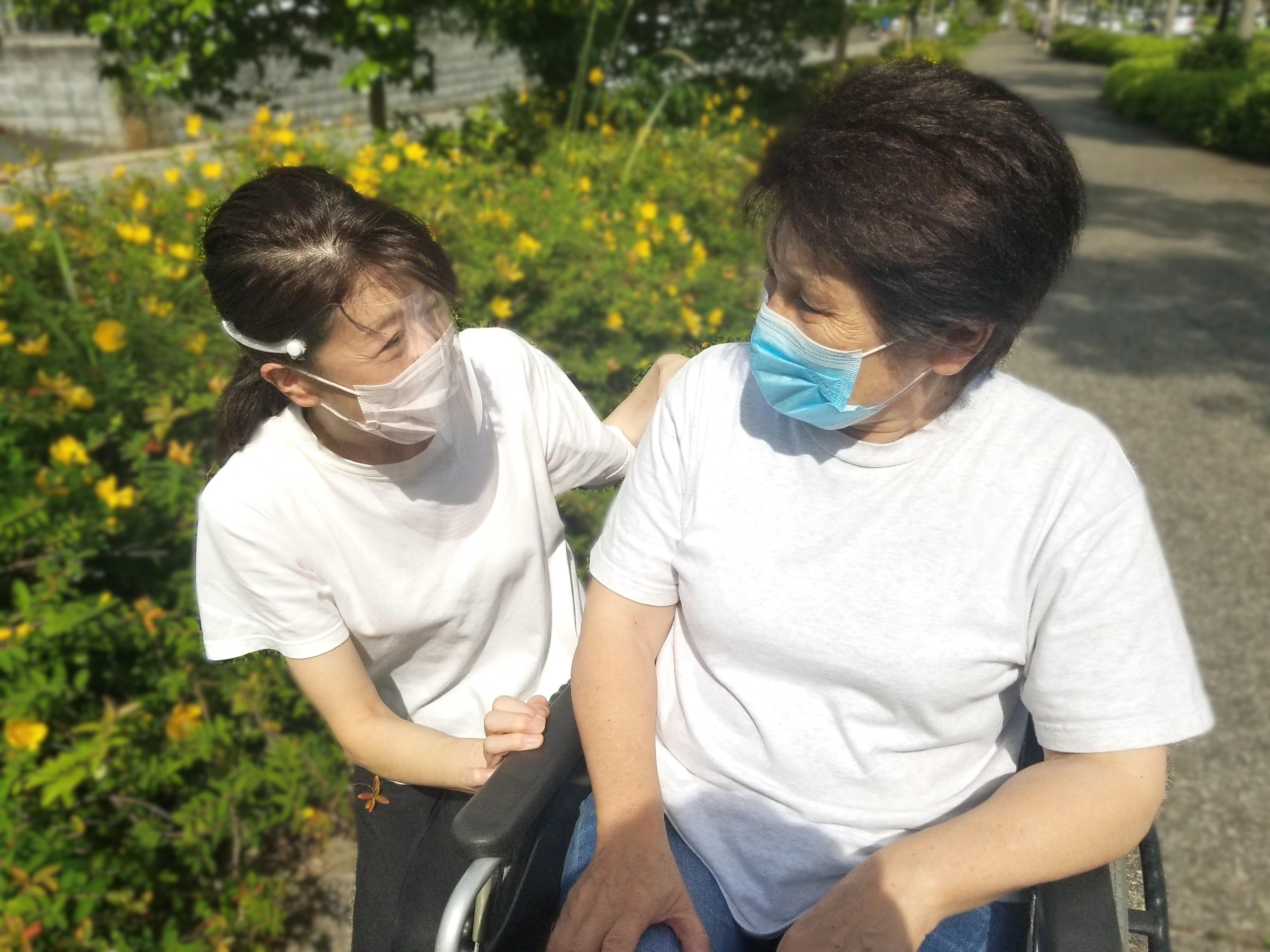 新型コロナ感染症の予防対策を徹底しています。