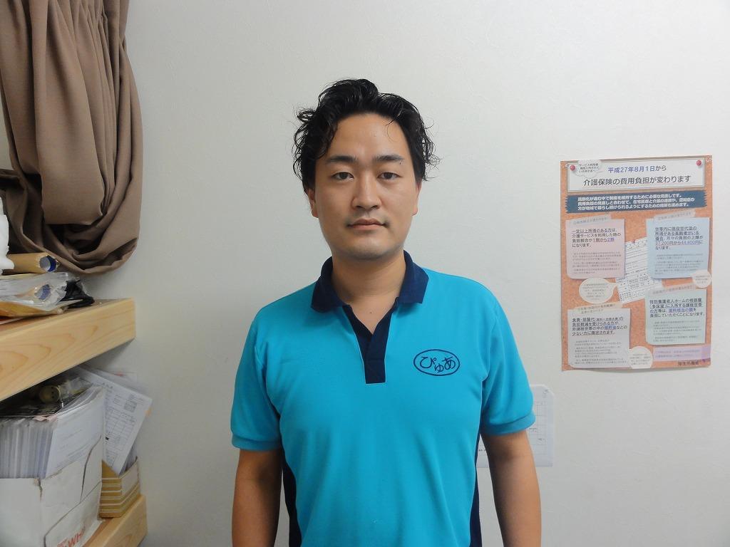 片山佑太朗 ぴゅあデイリゾート OHANA 施設長